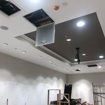 image of suspended ceiling we installed